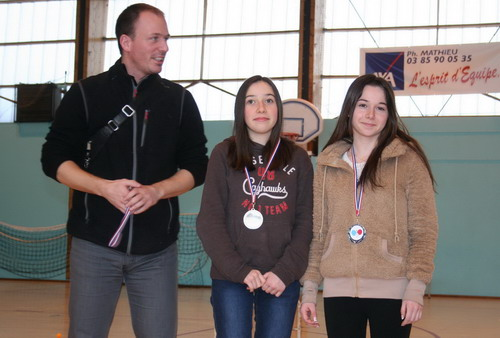 Podium Interclubs Cadettes